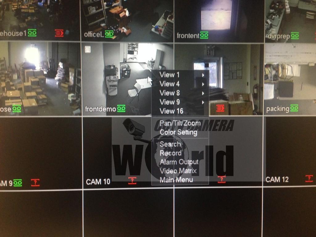 How To Troubleshoot A Pan Tilt Zoom Ptz Camera Cctv World Panasonic Wiring Diagram Drop Down Menu