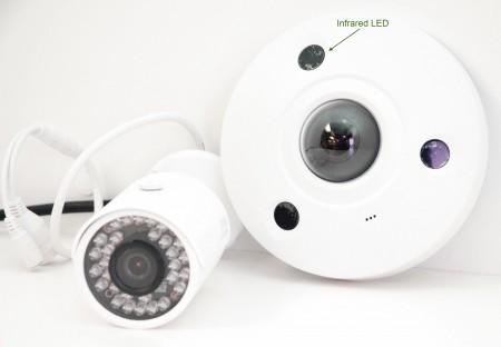 4K Fisheye Dome Camera vs IP Bullet Camera