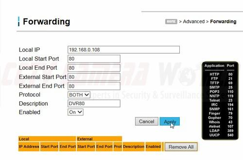 UBEE DDW365 Router Port Forwarding for Time Warner Cable Customers