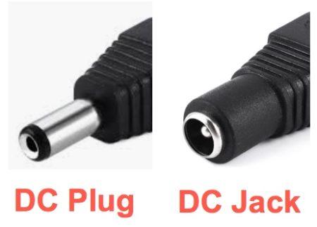 DC plug and DC jack