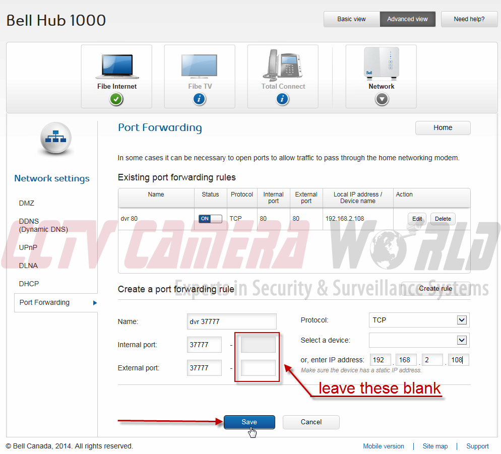 Port Forwarding Bell Hub 1000 For Security Systems Cctv Camera Fibe Tv Wiring Diagram 4 22 2016 10 43 23 Am
