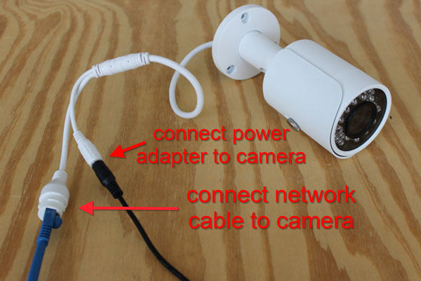 How to Connect an IP Camera to a Computer / CCTV Camera ... Ip Camera Rj Cat Wiring Diagram on