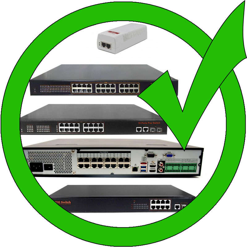 approved poe switches
