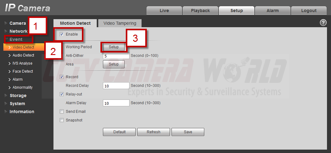 Recording Security Camera to an SD Card / CCTV Camera World