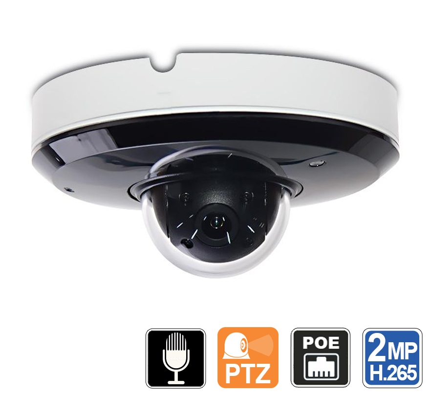 Outdoor Ptz Camera With Microphone And Night Vision