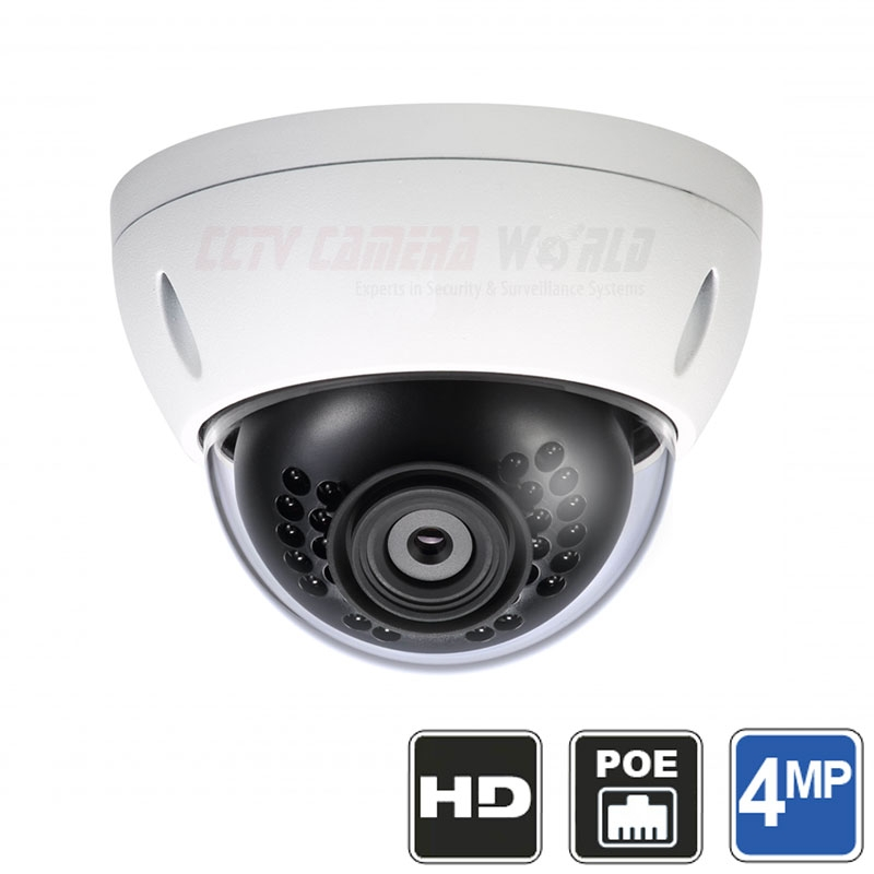 4 Channel 4mp Ip Dome Camera System