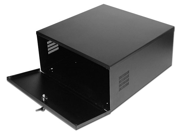 Dvr Nvr Lock Box With Cooling Fan