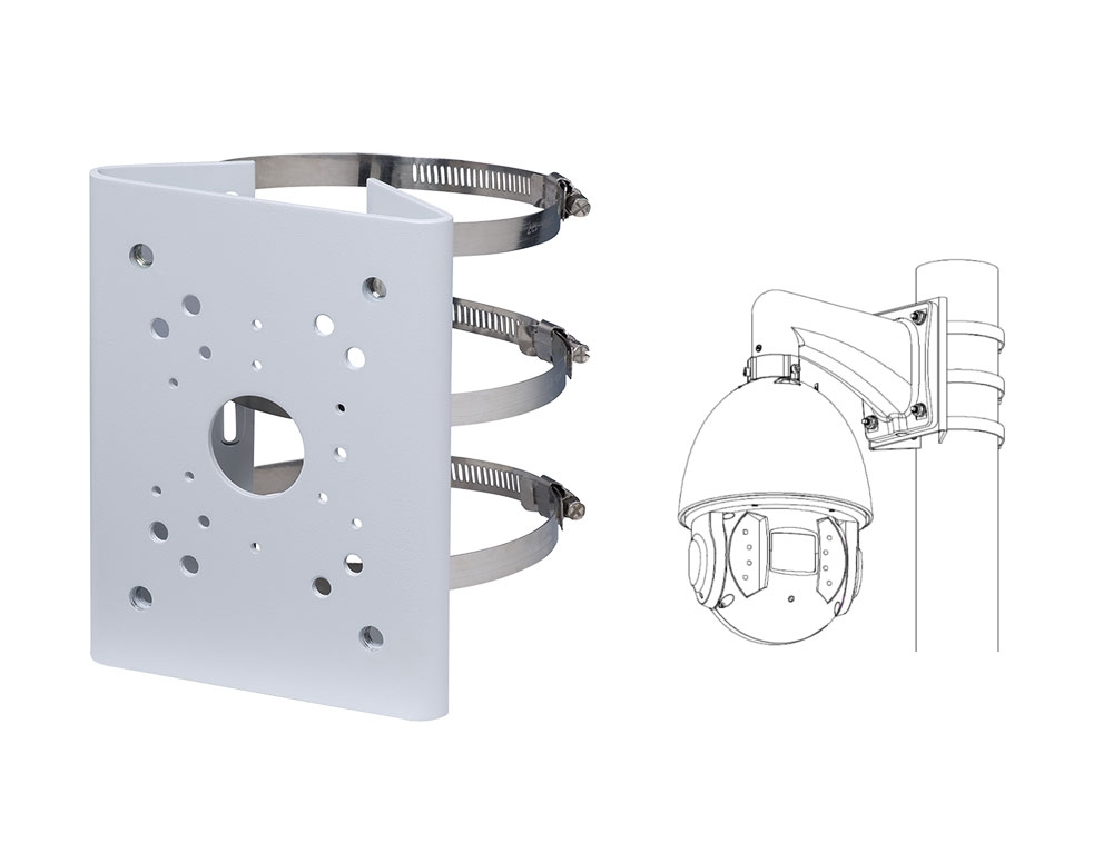 Security Camera Pole Mount Bracket