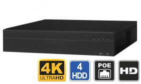16 Channel 4K NVR with PoE Switch