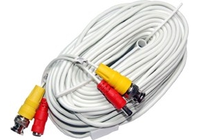 50ft Siamese Cable, White