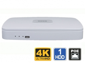 8 Channel 4K NVR with PoE