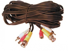50ft Siamese Cable with Audio
