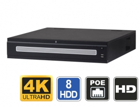 64 Channel 4K Resolution NVR Hot Swap