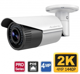 4MP ONVIF Surveillance Camera, 4X Zoom