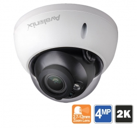 2K 4MP Vandal Resistant Dome Camera