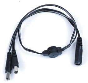 1 to 2 Way DC Power Cable Splitter