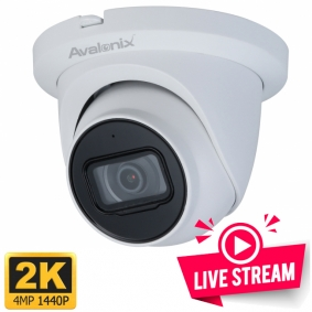 2K Live Streaming Outdoor Camera