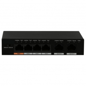 4 Port PoE+ Switch
