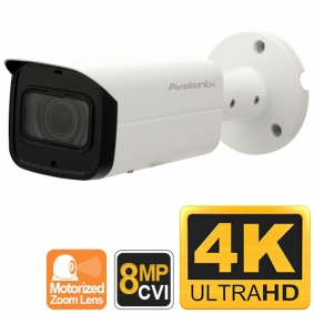 4K Security Camera with Zoom, HDCVI