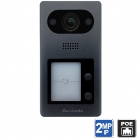PoE IP Intercom with Mic and Speaker