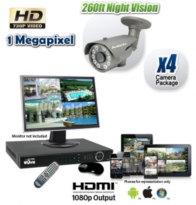 HD Long Range Night Vision Camera System