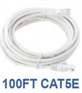 100ft CAT5e Network Cable