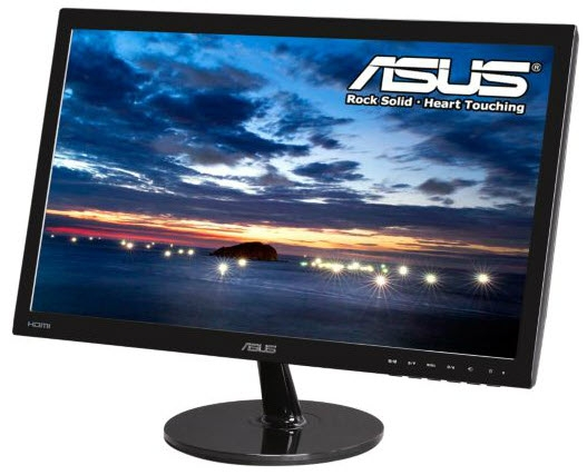 23 1080p Lcd Widescreen Monitor Hdmi