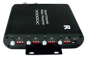 4 Channel Balun Receiver Active