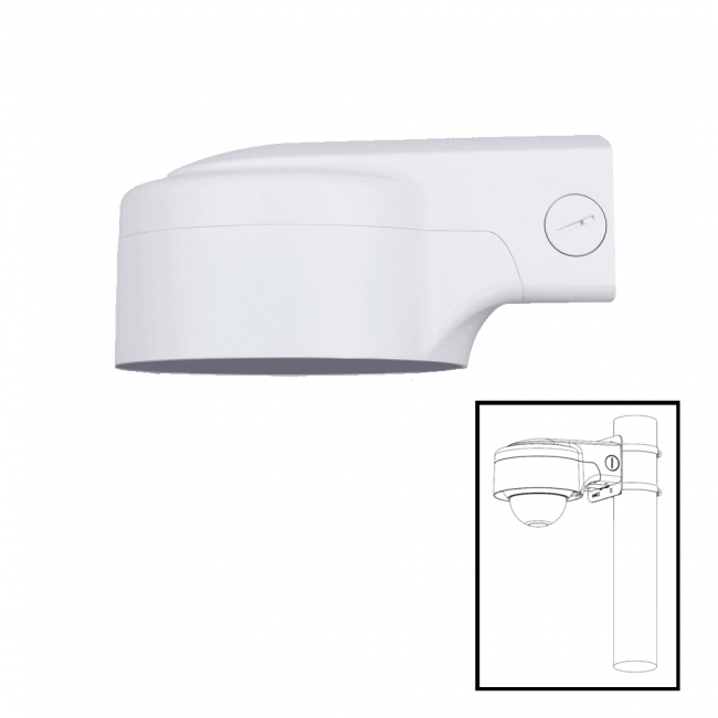 Security IP Camera Stand Bracket Metal Ceiling Wall Mount Arm Network Hold ONE
