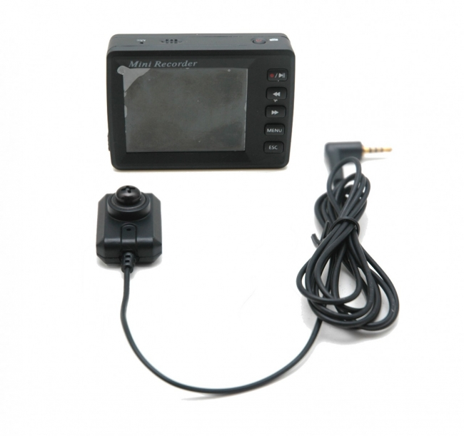 Portable Dvr With Hidden Button Camera