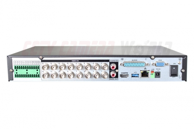 16 Channel Tribrid Dvr With 16 Audio