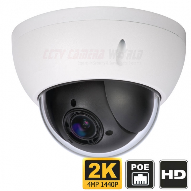 Outdoor 4mp Ptz Ip Camera 4x Zoom