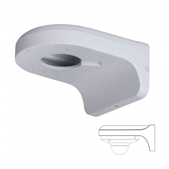 Wall Mount Arm Bracket For Dome Cameras