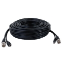 100ft Security Camera Siamese Cable HD 1080P, Black