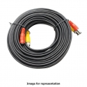 50ft Siamese Video Power Cable HD 1080P, Black
