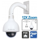 2MP HD Outdoor Mini PTZ IP Camera 12X Zoom