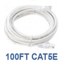 100ft CAT5e Cable, White