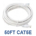 50ft CAT5e Cable, White
