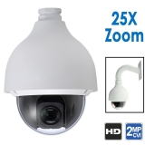 2MP 1080P Starlight PTZ Camera, 25X Zoom