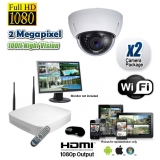 2 Wireless Dome Camera System 1080P