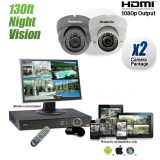 720TVL 960H Infrared Dome Camera System