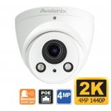 2K Turret Dome Camera with Motorized Zoom Lens