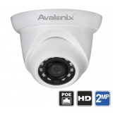 1080P Dome Camera PoE with Night Vision