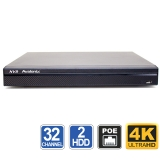 32 Channel 4K NVR H.265 with 16 PoE