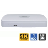 4 Channel 4K NVR with PoE