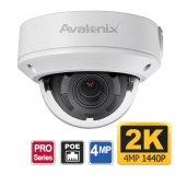 4MP ONVIF Dome Surveillance Camera, 4X Zoom