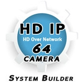 64 Channel IP Security Camera System Builder