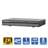 8 Channel DVR, 8 Audio