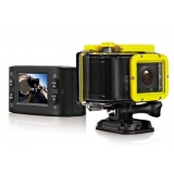 1080P 720P 60fps Portable Sports Action Camera with LCD