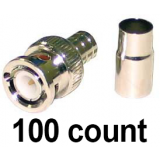 BNC Crimp 100 count